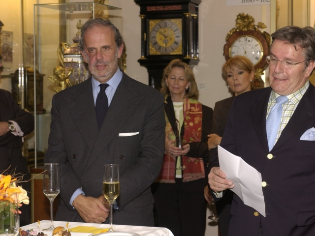 Gino Macaluso (left side) from Girard Perregaux
