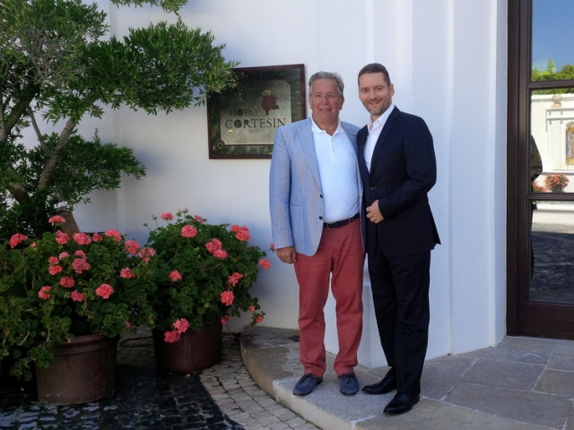 Get together, Rene Zimmer CEO Finca Cortesin, Marbella, one of the best hotel around the world