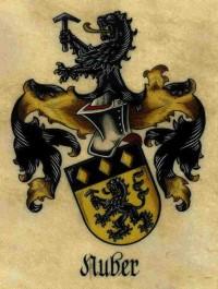 Familienwappen der Familie Nuber seit 1251