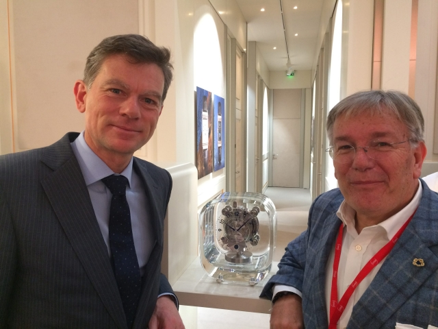 Stéphane Belmont, Director Brand Heritage, Jaeger LeCoultre