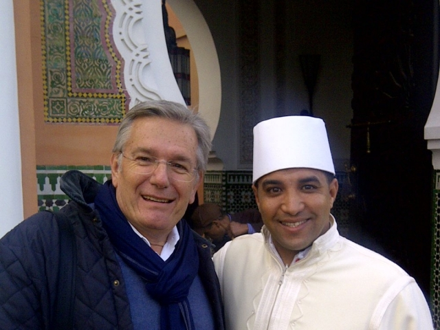 My personal assistant during my time in Marrakech, Mr. Khalifa