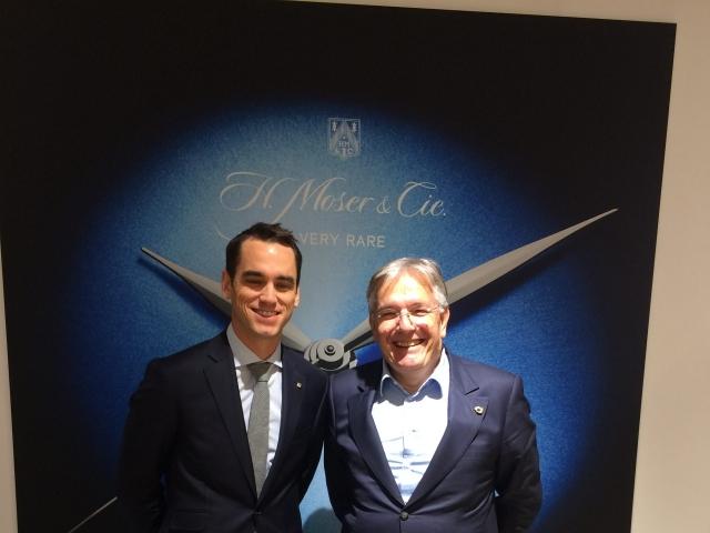 with Edouard Meylan, H. Moser & Cie