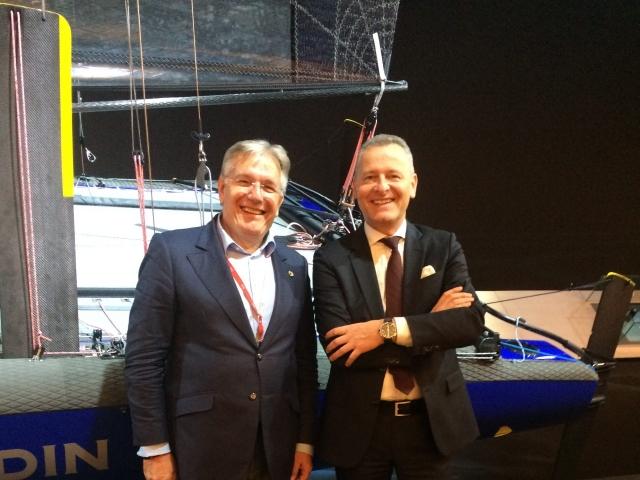 with Patrick Homann, Ulysse Nardin