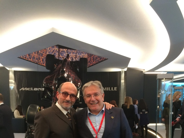 with Richard Mille